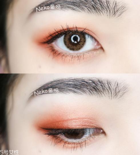 橘朵眼影怎么样 好看的橘朵眼影色号推荐