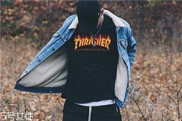 thrasher正品火焰价位 爆款王都在穿它