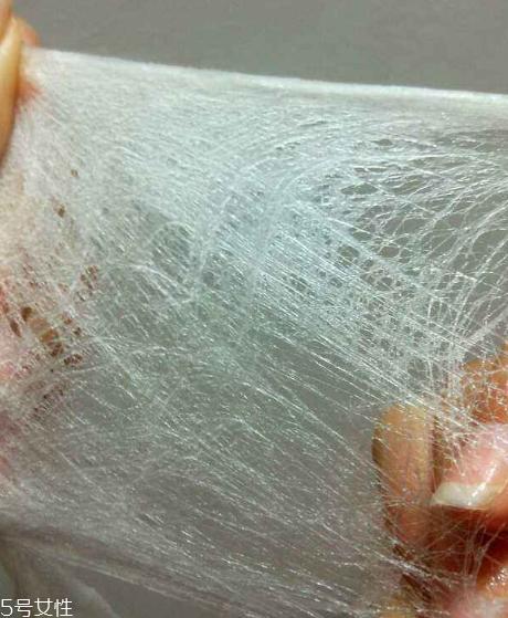无纺布面膜和蚕丝面膜图片