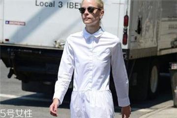衬衫裙什么颜色好看 时髦懒人必备
