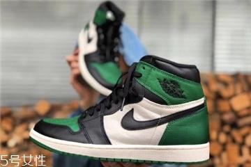 aj 1绿脚趾有女款吗 风靡全球的配色