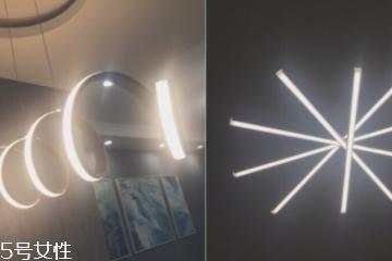 现代北欧风选什么灯具 几何灯具超带感