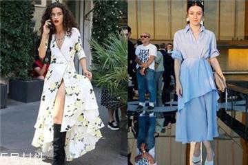 荷叶边裙子怎么搭配 夏日裙装的与众不同