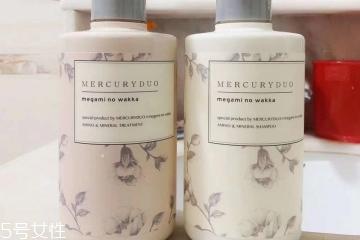mercuryduo mercuryduo洗发水成分 非常纯天然