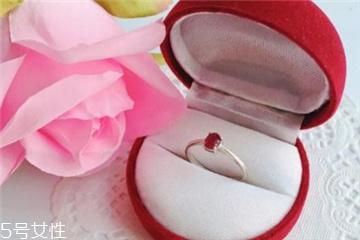 红宝石戒指寓意 红火炙热的爱情