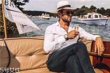 巴拿马帽子搭配 别样的绅士风情