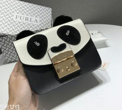 Furla熊猫包大小迷你尺寸更可爱