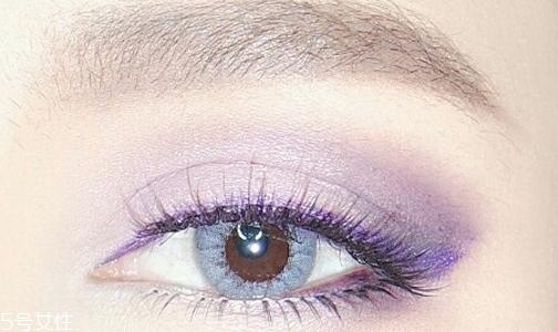 紫色妆容怎么画不显脏 我们国人如何驾驭紫色