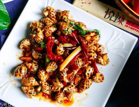 海螺是蒸还是煮 根据个人口味而定