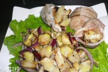 海螺肉怎么做好吃 和韭菜搭配很美味