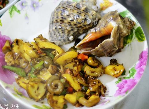 海螺里面的都能吃吗 内脏是不能吃的