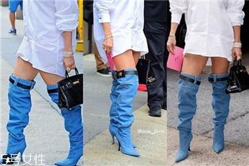 牛仔裤长靴是什么牌子 看不懂的时尚