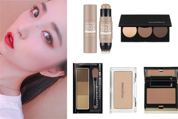 鼻影修容产品推荐 5款最自然的鼻影修容