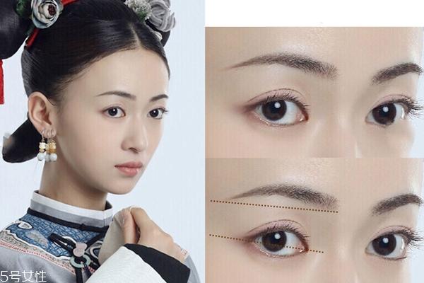延禧攻略眉毛怎么画 不同性格对应不同眉型