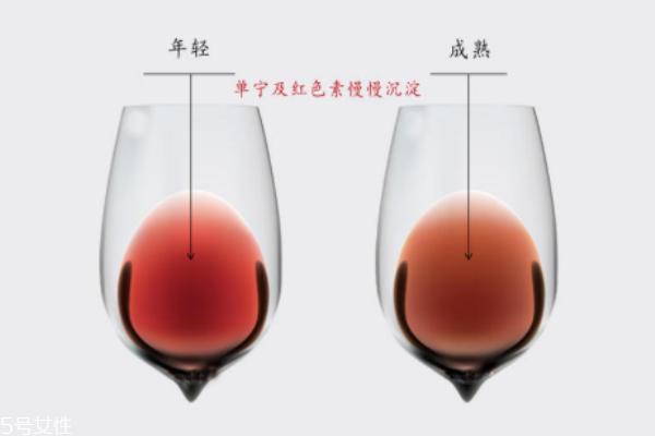 红酒颜色发褐色能喝吗 陈年老酿可以喝