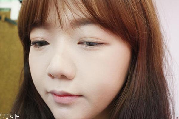 韩国橘色妆图文教程