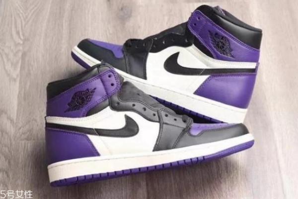 aj1黑紫脚趾有女码吗 颜值超高的潮鞋