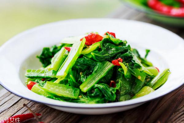 小白菜能生吃吗 可以这样吃