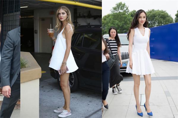 小白裙好看吗 穿出清新少女感