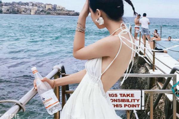 小白裙搭配图片 夏天的最佳打开方式