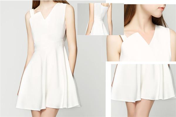 小白裙怎么搭配