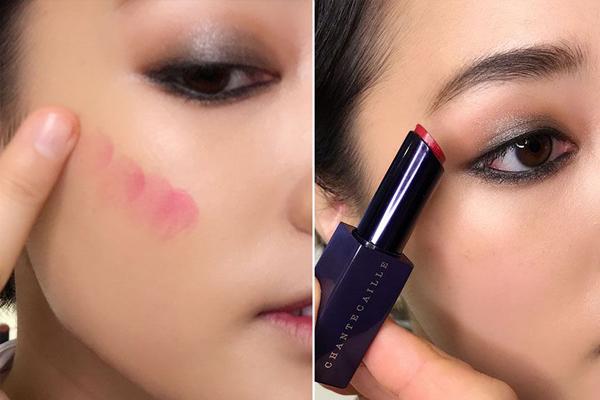 如何用一支口红化妆 打造自然又深邃的红润感妆容