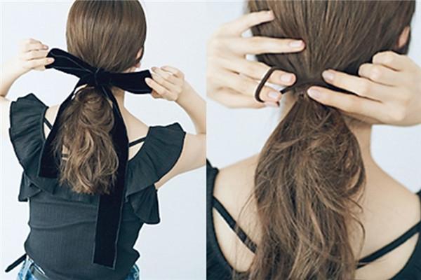 甜美发型怎么扎 3款清新甜美卷发扎法