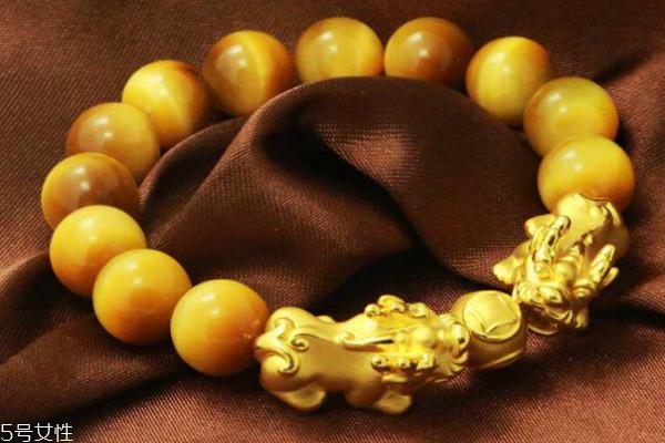 黄金貔貅手链如何挑选 有很多小细节