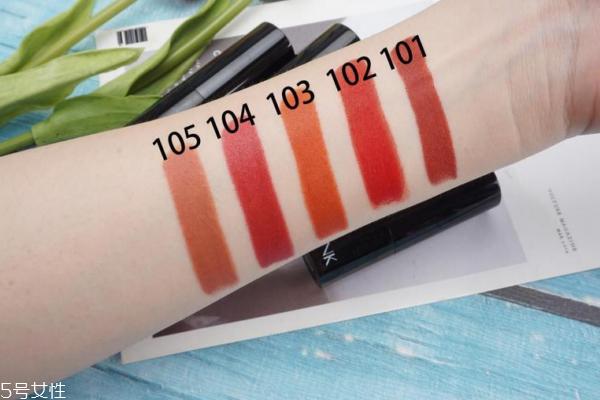 vnk口红颜色推荐 实用性很强的5支日常色