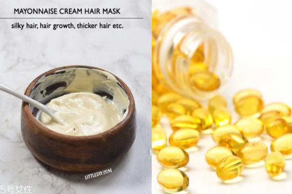 维生素e护发怎么使用 让头发滑顺不分叉