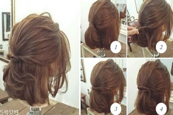 短发怎么扎公主头 手残女都会的发型分享
