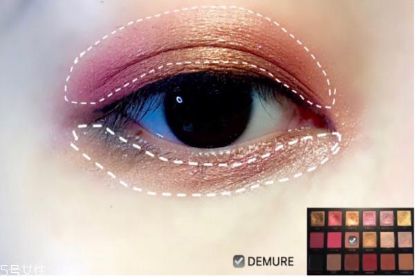 hudabeauty第3代玫瑰眼影盘画法 好驾驭的玫瑰系眼妆