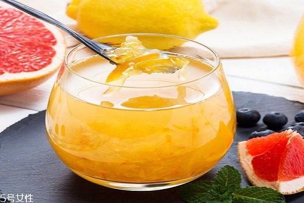 蜂蜜柚子茶可以止咳润肺吗 有一定帮助