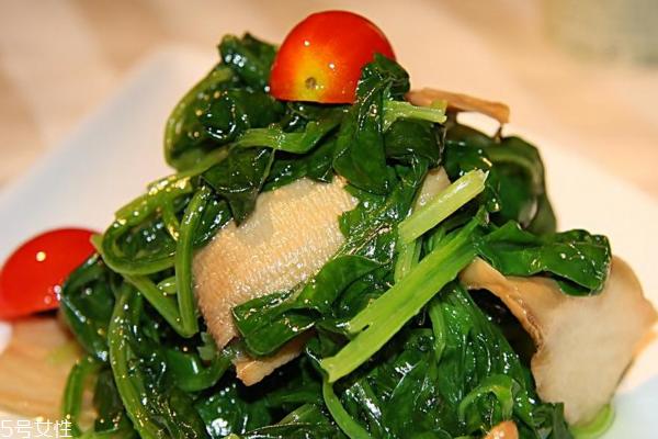 菠菜为什么吃了麻嘴 草酸涩口