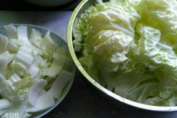 白菜怎么洗才干净 这样洗就对了