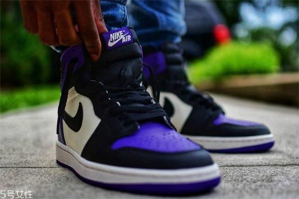 aj1黑紫脚趾货量 这次发售量不算少