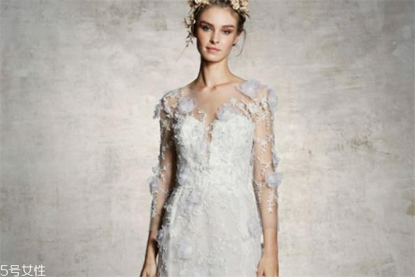 marchesa婚纱价格 很值得购买