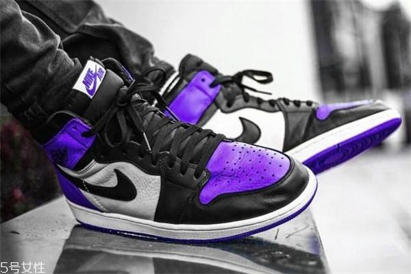 aj1黑紫脚趾会涨价吗 难以抵挡的紫色魅力