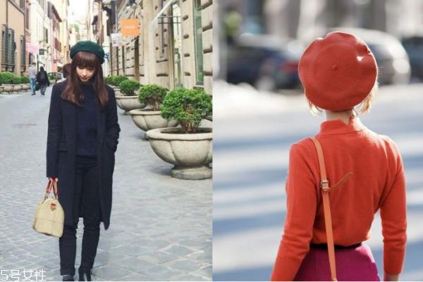 有刘海怎么搭配贝雷帽 秋冬必入贝雷帽有这些