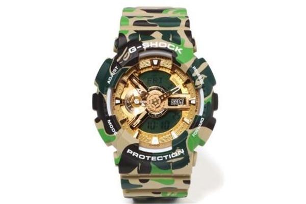 bape25周年限定gshock手表多少钱_在哪买
