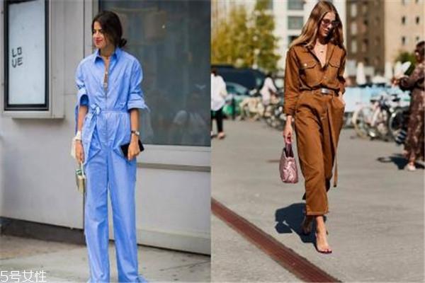 连体工装裤怎么搭配 最酷的就是你