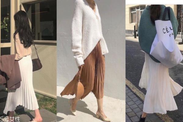 百折裙怎么搭配好看 7种穿搭仙气满满