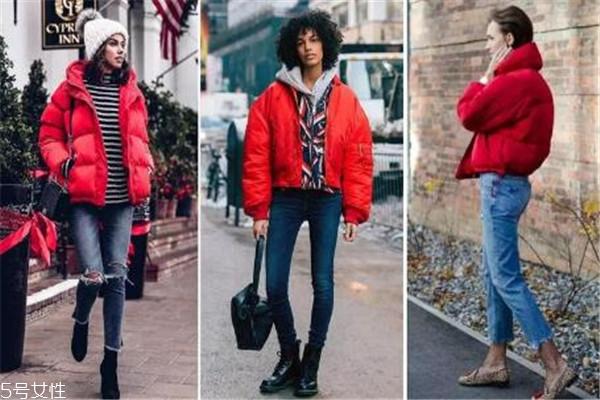 冬天羽绒服搭配图片 三种方案任你选