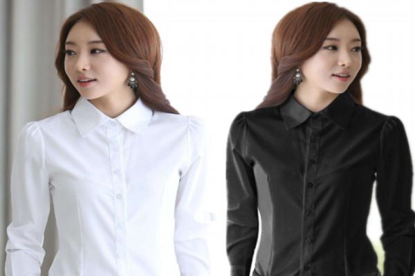 女式衬衫百变搭配,怎么穿这么好看