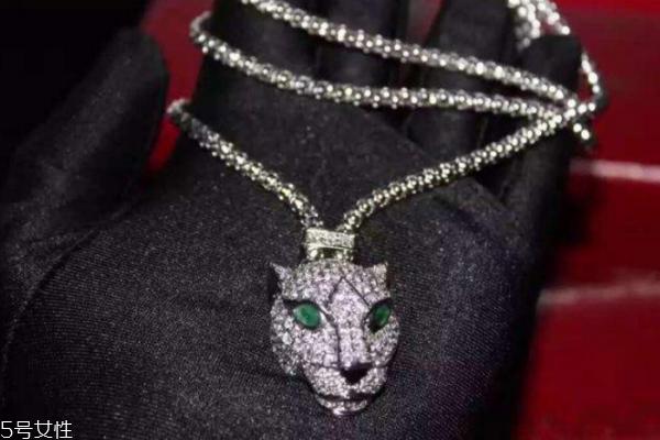 卡地亚豹头项链多少钱 王者风范的代表