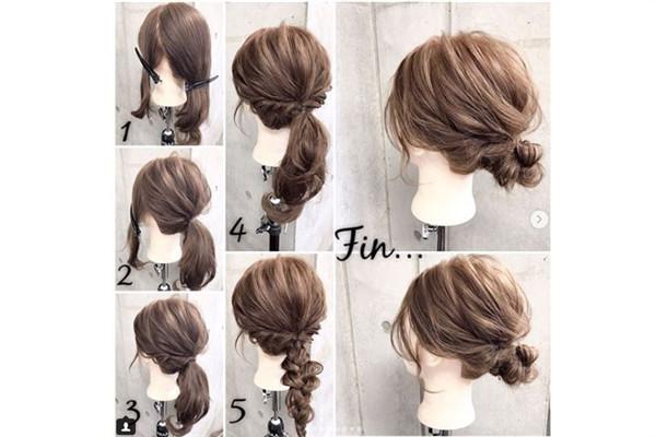 10种简单清爽的发型女教程