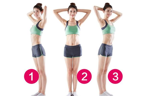 腰部怎么快速减肥 3个缩腰动作瘦成葫芦腰