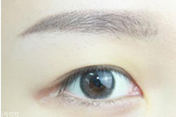 眼妆怎么画图片