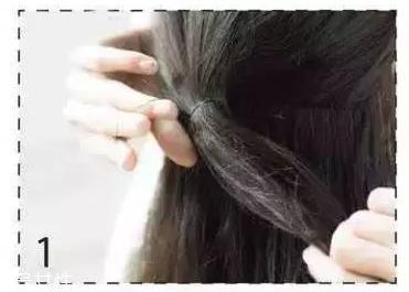 卷发扎什么发型好看 长卷发扎法教程