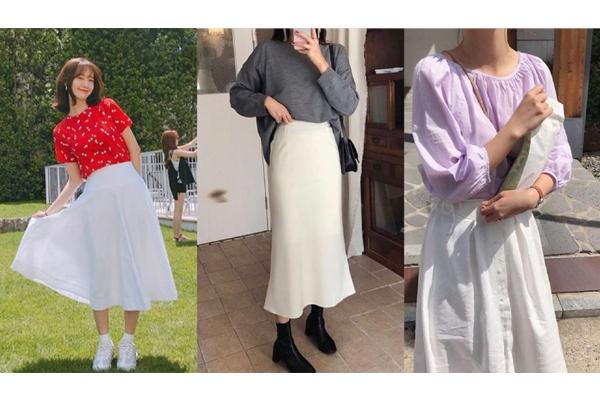 秋季白色裙子怎么搭配 秋季白色裙子搭配图片